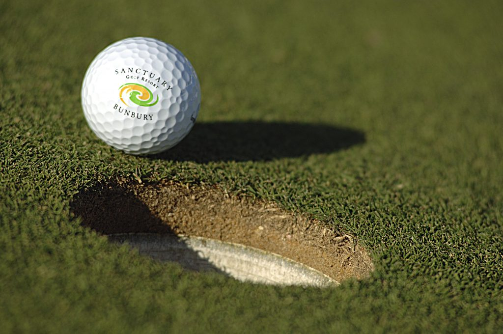 play golf on our winning green